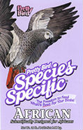 Pretty Bird Species Specific African Grey label image