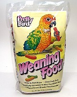 Pretty Bird Weaning Food label image